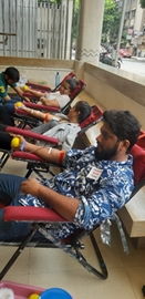 Blood Donation Camp Organized By A'Kreations Hair & Beyond On World Blood Donor Day