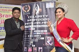 Celerity India 2020 Miss-Mr-Mrs Press Meet With Sonali Arora