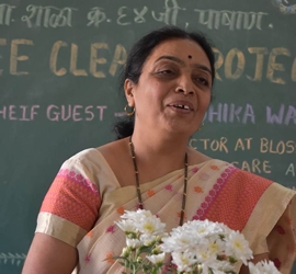 WEE-Clean Donation Drive Organized By WEE-Pune Head Sanchali  Iyer