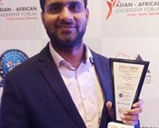 AACCI honors Vinod Yadav with Fashion Vista Glamor and Style Award