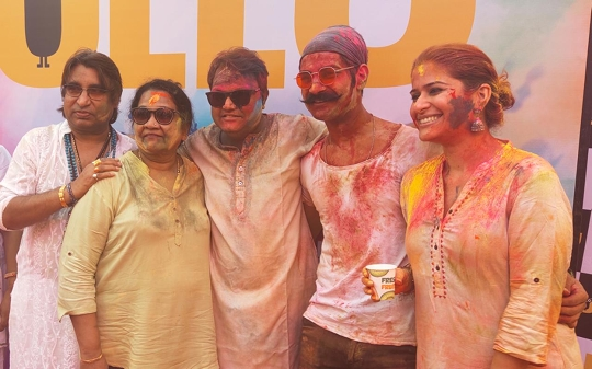 ULLU App's 2nd year Holi Bash  with a bang – The colourful carnival