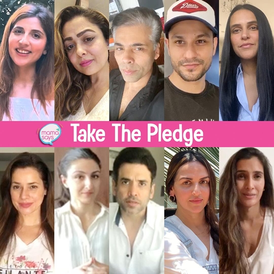 Tusshar Kapoor – Esha Deol – Karan Johar – Neha Dhupia – Soha Ali Khan – Amrita Arora Amongst Others Pledge To Protect The Planet