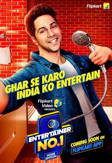 Flipkart Introduces A Unique Stay-At-Home Reality Show With Varun Dhawan  Encouraging Indians To Entertain From Home